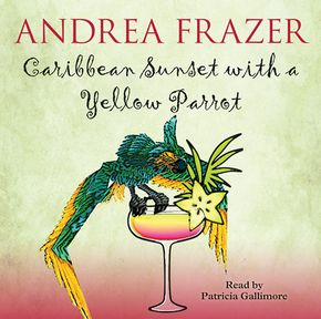 Caribbean Sunset With A Yellow Parrot thumbnail