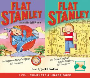 Flat Stanley: The Japanese Ninja Surprise & The Great Egypti thumbnail